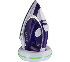 RUSSELL HOBBS Freedom 23300 Cordless Steam Iron - Purple & White Best Price, Cheapest Prices