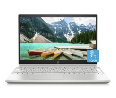 HP Pavilion 15.6 Inch A9 4GB 128GB FHD Touch Laptop - Silver Best Price, Cheapest Prices
