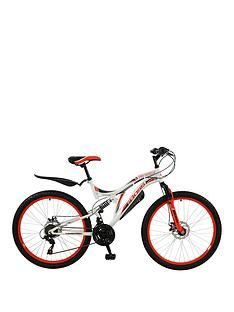 Boss Cycles Ice White Ladies Mountain Bike 18 inch Frame Best Price, Cheapest Prices