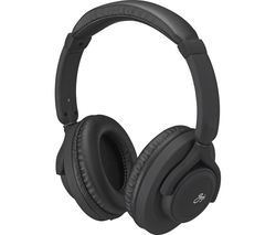 GOJI Lites GLITVBT18 Wireless Bluetooth Headphones - Black Best Price, Cheapest Prices