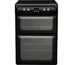 HOTPOINT HUI614K Electric Induction Cooker - Black Best Price, Cheapest Prices