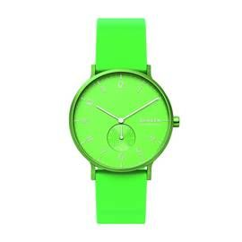 Skagen Kulor Neon Green Silicone Strap Watch Best Price, Cheapest Prices