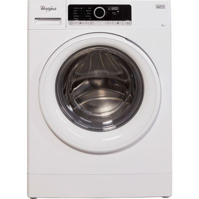 Whirlpool FSCR80410 8Kg Washing Machine with 1400 rpm - White - A+++ Rated Best Price, Cheapest Prices