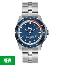 Lacoste Durban Men's Silver Stainless Steel Bracelet Watch Best Price, Cheapest Prices