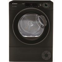 Candy GSVC9TGB 9kg Freestanding Condenser Tumble Dryer - Black Best Price, Cheapest Prices
