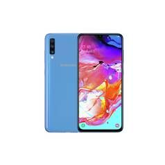 SIM Free Samsung A70 128GB Mobile Phone – Blue Best Price, Cheapest Prices