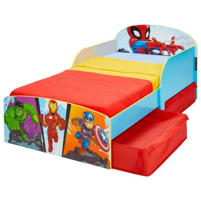 Marvel Avengers Toddler Bed Frame with Drawers Best Price, Cheapest Prices