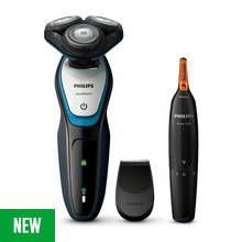 Philips AquaTouch Series 5000 Shaver with Nose & Ear Trimmer Best Price, Cheapest Prices