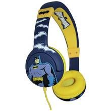 Batman Kids On-Ear Headphones - Yellow / Blue Best Price, Cheapest Prices