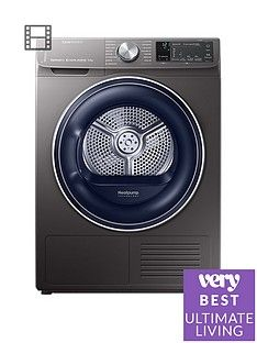Samsung DV90N62642X/EU 9kgLoad Tumble Dryer with Heat Pump Technology - Graphite Best Price, Cheapest Prices