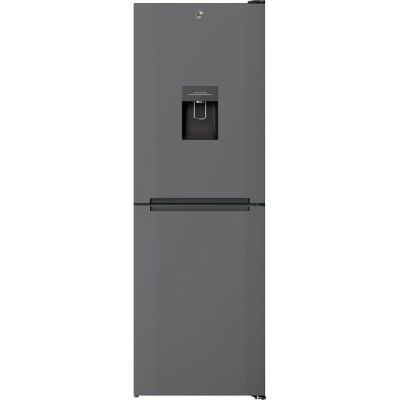 Hoover H1826MNB5XWK 50/50 Frost Free Fridge Freezer - Stainless Steel - A+ Rated Best Price, Cheapest Prices