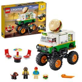 LEGO Creator 3-in-1 Monster Burger Truck Building Set-31104/t Best Price, Cheapest Prices