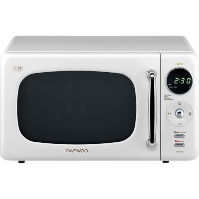 Daewoo KOR9LBKWR 20 Litre Microwave - White Best Price, Cheapest Prices