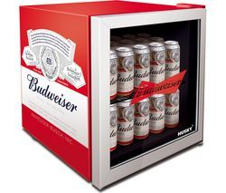 HUSKY Budweiser HUS-HU253 Drinks Cooler - Red Best Price, Cheapest Prices