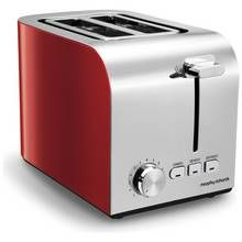 Morphy Richards 222056 Equip 2 Slice Toaster - Red Best Price, Cheapest Prices