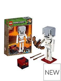 LEGO Minecraft 21150 Minecraft™ BigFig Skeleton with magma cube Best Price, Cheapest Prices
