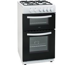 LOGIK LFTG50W16 50 cm Gas Cooker - White Best Price, Cheapest Prices