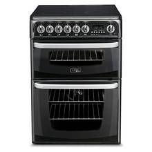 Hotpoint CH60EKKS Electric Cooker - Black Best Price, Cheapest Prices