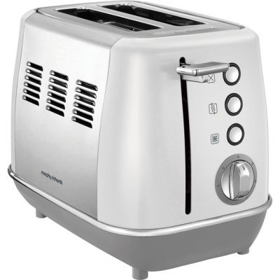 Morphy Richards Evoke 224409 2 Slice Toaster - White Best Price, Cheapest Prices