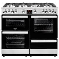 Belling Cookcentre 100G 100cm Gas Range Cooker in Stainless Steel 444444088 Best Price, Cheapest Prices