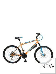 Boss Cycles Boss Vortex Steel Mens Mountain Bike 18 Inch Frame Best Price, Cheapest Prices