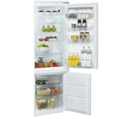 Whirlpool ART201/63A+/NF.1 Integrated 70/30 Frost Free Fridge Freezer with Sliding Door Fixing Kit - White - A+ Rated Best Price, Cheapest Prices