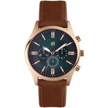 Spirit Men's Brown Faux Leather Strap Watch Best Price, Cheapest Prices