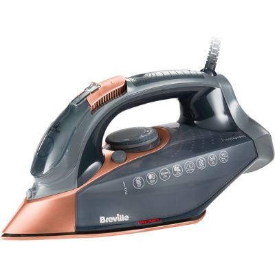 Breville PressXpress 2800W VIN407 2800 Watt Iron -Grey / Rose Gold Best Price, Cheapest Prices