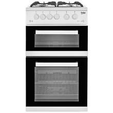 Beko KDVG592W Gas Cooker - White Best Price, Cheapest Prices
