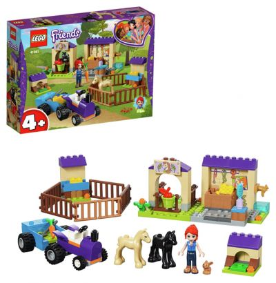 LEGO Friends Mia's Foal Stable Playset - 41361 Best Price, Cheapest Prices