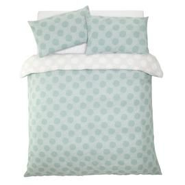 Argos Home Spot Print Bedding Set - Double Best Price, Cheapest Prices