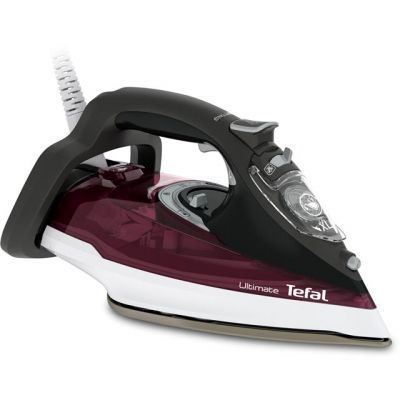 Tefal Ultimate Anti-Scale FV9788 3000 Watt Iron -Dark Red Best Price, Cheapest Prices