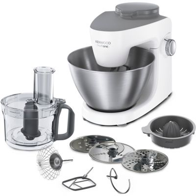 Kenwood Multione KHH300 Stand Mixer with 4.3 Litre Bowl - White Best Price, Cheapest Prices