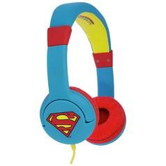 Superman On-Ear Kids Headphones - Blue Best Price, Cheapest Prices