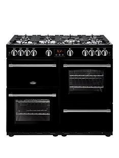 Belling 100G Farmhouse 100Cm Gas Range Cooker - Rangecooker With Connection Best Price, Cheapest Prices