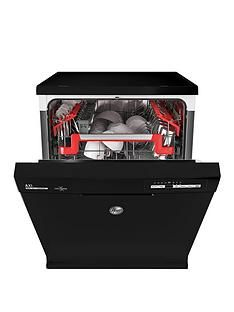 Hoover AXI HDPN 2L6200OB 16-Place Fullsize Dishwasher - Black