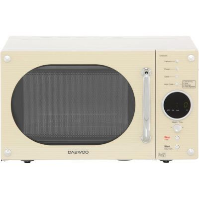 Daewoo KOR8A9RC 23 Litre Microwave - Cream Best Price, Cheapest Prices