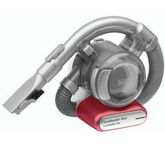 BLACK + DECKER Dustbuster PD1020L Flexi Handheld Vacuum Cleaner - Red