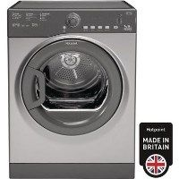 GRADE A2 - Hotpoint TVFS73BGG9 7kg Freestanding Vented Tumble Dryer - Graphite Best Price, Cheapest Prices