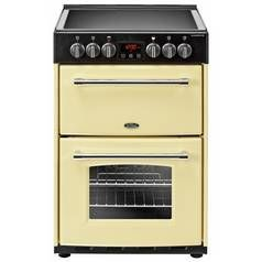 Belling Farmhouse 60E 60cm Electric Range Cooker - Cream Best Price, Cheapest Prices