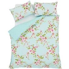 Catherine Lansfield Canterbury Floral Bedding Set - Single Best Price, Cheapest Prices