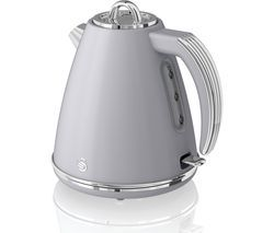SWAN Retro SK19020GRN Jug Kettle - Grey Best Price, Cheapest Prices