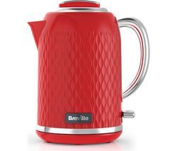BREVILLE Curve VKT119 Jug Kettle - Red Best Price, Cheapest Prices