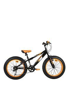 Sonic Sonic Fatbike 20 INCH 6 Speed Black/Mango Best Price, Cheapest Prices