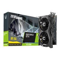 ZOTAC GeForce GTX 1650 SUPER Twin Fan Graphics Card, Turing, 4GB GDDR6, 1280 Cores, 1725Mhz Boost Best Price, Cheapest Prices