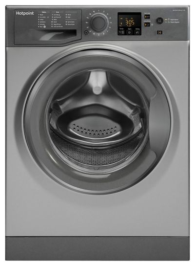 Hotpoint NSWM743UGG 7KG 1400 Spin Washing Machine - Graphite Best Price, Cheapest Prices