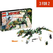 LEGO Ninjago Movie Green Ninja Mech Dragon - 70612 Best Price, Cheapest Prices
