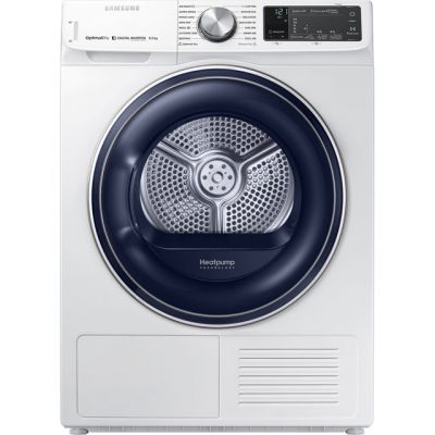 Samsung DV80N62542W 8Kg Heat Pump Tumble Dryer - White - A+++ Rated Best Price, Cheapest Prices
