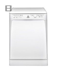 Indesit DFP27B1 13-Place Full Size Dishwasher with Quick Wash - White Best Price, Cheapest Prices