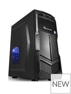 PC Specialist Fusion Elite II AMD Ryzen 3, 8GB RAM, 1TB Hard Drive, Desktop PC with 4GB Nvidia GTX 1050 Ti Graphics - Black Best Price, Cheapest Prices